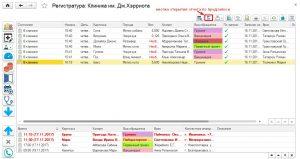 Рис.5 Открытие отчета по предзаписи